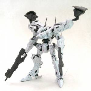 V.I. Series Armored Core White Glint & V.O.B Set Movie Color Ver. Plastic Model [Kotobukiya]