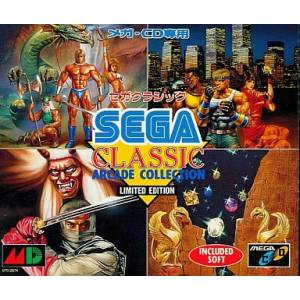 Sega Classic Arcade Collection [MCD - occasion BE]