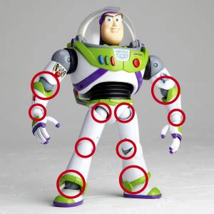 Toy Story - Buzz Lightyear Renewed Package Design Version [Legacy of Revoltech]