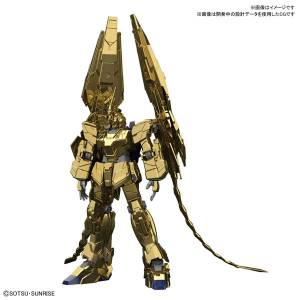 Gundam Narrative - Unicorn Gundam 03 Phenex (Unicorn Mode) Narrative Ver. Gold Coating Plastic Model [1/144 HGUC / Bandai]