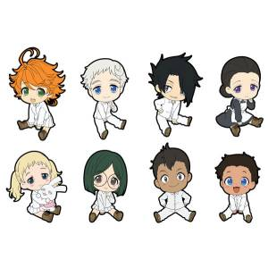 The Promised Neverland Petanko Trading Rubber Strap 8 Pack BOX [Goods]