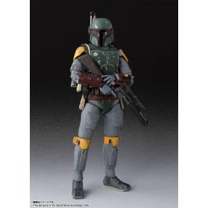 FREE SHIPPING - STAR WARS: Episode VI - Return of the Jedi - Boba Fett [SH Figuarts]