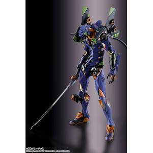 FREE SHIPPING - Evangelion - EVA-01 Reissue [Metal Build]