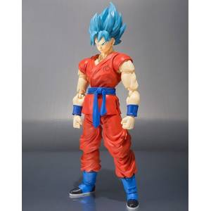 Dragon Ball Z Resurrection F - Super Saiyan God Son Goku (Limited Edition) [SH Figuarts] [Used]