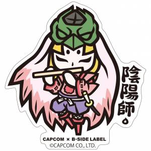 Capcom x B-SIDE LABEL Sticker - Okami Ushiwaka Deformed [Goods]