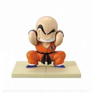 Dragon Ball Makafushigi Adventure - Tenkaichi Memo Stand - Krilin F Price - Ichiban Kuji [Banpresto] [Used]