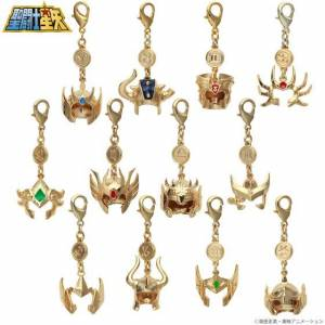 Saint Seiya Golden Saint (Gold Saint) Accessories Charm Set Limited Edition [Goods]