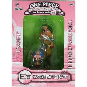 One Piece Romance Dawn for the New World - Usopp & Chopper E Price - Ichiban Kuji [Banpresto]
