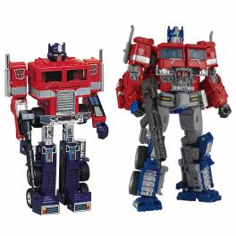 Transformers 35th Anniversary Convoy & Optimus Prime Set Limited Edition [Takara Tomy]
