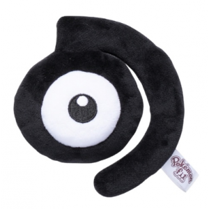 Plush Pokémon fit Unown D