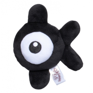 Plush Pokémon fit Unown K