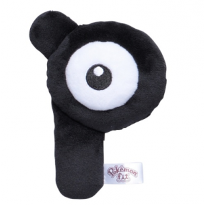 Plush Pokémon fit Unown P