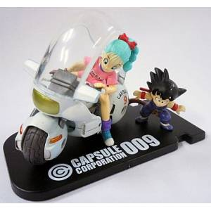 Dragon Ball Museum Collection 4 - Goku & Bulma in Bike [Banpresto] [Used]