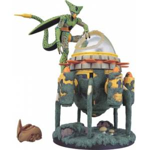 Dragon Ball Museum Collection 12 - Cell & Time Machine [Banpresto]