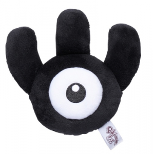 Plush Pokémon fit Unown W