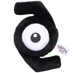 Plush Pokémon fit Unown Z Pokemon Center Limited [Goods]