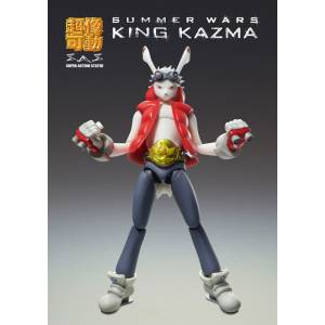 FREE SHIPPING - Summer Wars King Kazuma Ver.1 [Super Action Statue]