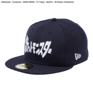 Pokemon - Cap NEW ERA 59FIFTY TITLE NVY 7 3/8 Pokemon Center Limited [Clothes/Goods]