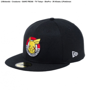 Pokemon - Cap NEW ERA 59FIFTY PIKACHU CIRCLE 7 3/8 Pokemon Center Limited [Clothes/Goods]