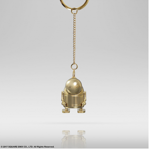 NieR Automata - Metal key chain Machine (gold color) Square Enix limited [Goods]