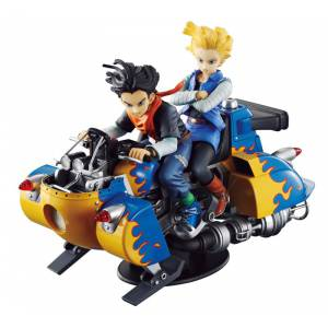 Dragon Ball Z Desktop Real McCoy 04 - Android 17 & 18 [Megahouse] [Occasion]