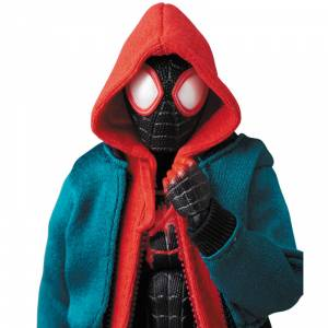 SPIDER-MAN INTO THE SPIDER VERS - SPIDER-MAN / Miles Morales [Mafex No. 107]