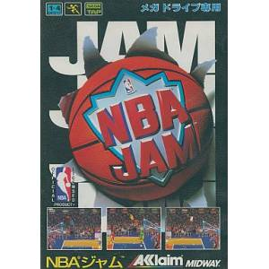 NBA JAM [MD - Used Good Condition]